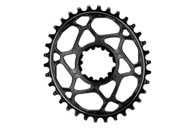 AbsoluteBLACK SRAM Direct Mount Oval Boost Kedjedrev Svart