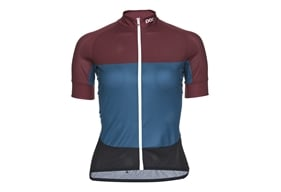 POC Essential Road W's Light Jersey Polypropylene Red/Draconis Blue