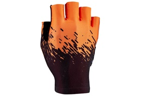 SupaG Short Glove - Black/Neon Orange