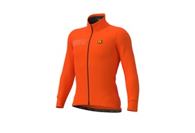 Alé Color Block Winter Jacket Orange