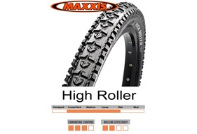 High Roller DH 24x2,50 TR Supertacky