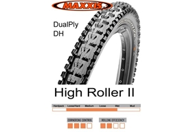 Maxxis High Roller II DH 26x2.40 Supertacky