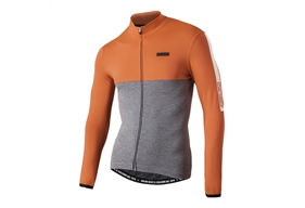 Mantova Warm Jersey Orange/Grå