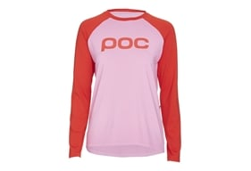 POC Essential MTB W's Jersey Altair Pink/Prismane Red