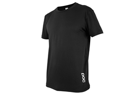 POC Essential Enduro Light Tee Carbon Black