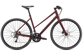 2021 Specialized Sirrus 3.0 Step-Through | Maroon