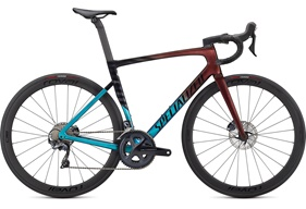 2021 Specialized Tarmac SL7 Expert | Turqouise Red Gold