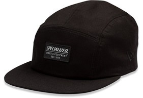 Specialized New Era 5 Panel Hat Svart