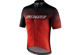 Specialized RBX Comp Logo Team SS Jersey Röd