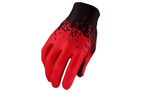 SupaG Long Glove - Black/Red